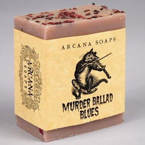 Arcana Soaps - Murder Ballad Blues :  indie household arcana soaps handmade