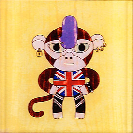 buyolympia.com: Matthew Porter - British Punk Monkey from buyolympia.com