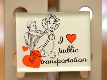 buyolympia.com: Sarah Utter - I Heart Public Transportation :  magnet buy olympia