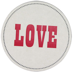 buyolympia.com: Sesame Letterpress - Love