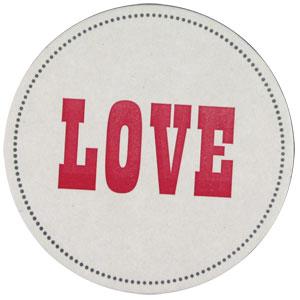 buyolympia.com: Sesame Letterpress - Love